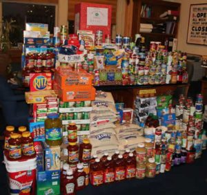 canned food drive for the Boise Rescue Mission